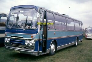 Original 35mm slide PEL930M Ford R1114 Plaxton Panorama of Unknown Operator