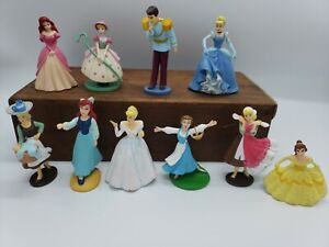 Disney Princess & more Figures Cake Toppers/Toy Play Lot