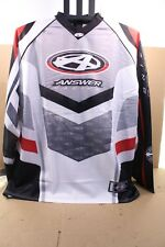ANSWER JERSEY XX-LARGE SILVER/BLACK            014303