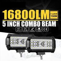 2X168W LED Lámpara Trabajo,Faros antiniebla, Luz de trabajo,Offroad,12V 24V,SUV