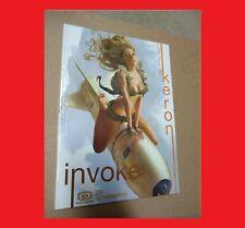 Artbook: Invoke- The Art Of Keron Grant Sketchbook (Sealed) Rare Hard-To-Find!
