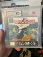 Monopoly Ps1 Graded 80+ New Playstation Collectors Item