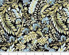 #G105 Black BTY Quilt Fabric BY THE YARD FreeSpirit Chinoiserie Dena Designs