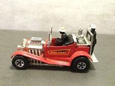 Matchbox Super kings Feuerwehrauto K-50 53 Fire Chief Rot Hot rot 1