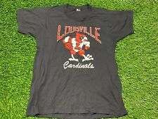 New listing Vintage University Of Louisville Cardinals Single Stitch T Shirt! Size L! Rare!