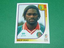 N°54 SALIF DIAO SENEGAL PANINI FOOTBALL JAPAN KOREA 2002 COUPE MONDE FIFA WC
