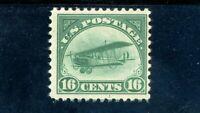 USAstamps Unused FVF US Airmail Jenny Scott C2 OG MNH Fresh