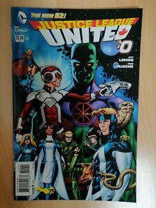 Comics VO : Justice League United #0 DC New 52 2014