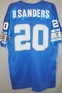 -NWT- 1990's -Barry Sanders- Vintage Champion Detroit Lions NFL Football Jersey