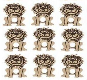8   LION EYELETS ** HOT ITEM ** BRAND NEW ** ZOO