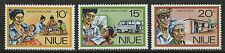 Niue  1977   Scott #   196-198     Mint Never Hinged Set