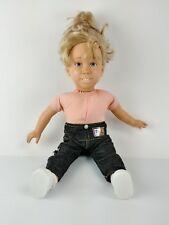 Vintage My Michelle Talking Full House Doll 1990 TV Star Mary-Kate Ashley Olsen