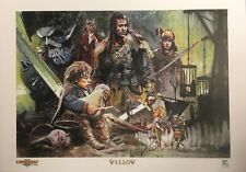 Willow 30th Anniversary NC Comicon Tommy Lee Edwards Art Print Limited Edition