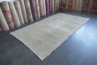 Anatolian,Turkish Rug,Contemporary Oushak Handwoven Antique Carpet 4'8x8'2 RDM