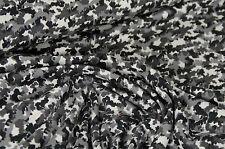 weicher Jersey Feinjersey Camouflage Tarnstoff Flecktarn querelastisch ab 0,5 m