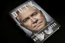 SIGNED Duty : Memoirs of a Secretary at War by Robert M. Gates (2014, Hardcover)