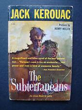 """Jack Kerouac  """" The Subterraneans """"  Avon  T-302  1959"""