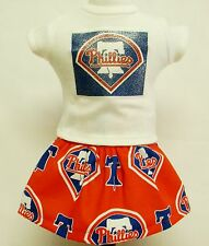 Philadelphia Phillies Outfit For 18 Inch Doll