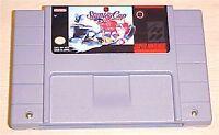 NHL Stanley Cup Hockey Super Nintendo SNES Vintage retro original game cartridge