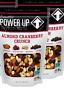 Power Up Almond Cranberry Crunch Trail Mix ,14 oz (2 Pack) VEGAN KOSHER NON GMO