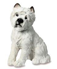 Sitting Westie Dog Puppy Garden Ornament - Resin - Figure - Statue