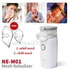Malla de respirador portátil de nebulizador recargable de viaje