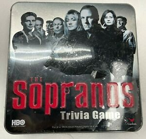 The Sopranos Trivia Board Game Tin Box Collectors 2004 NEW Factory Sealed