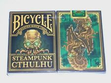 1 deck Bicycle STEAMPUNK CTHULHU Playing Cards NEW SEALED-S1032272705-B4