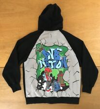 Vintage Pnb Nation Hoodie 1990s Boombox Graffiti Street Art Hip Hop Mens Size Xl