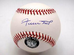 WILLIE MAYS JSA CERTIFIED SIGNED RAWLINGS MLB SELIG BASEBALL AUTOGRAPHED HOF.