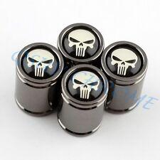 Automobile Accessories Wheels Tyre Valve Dust Caps CrossBones Pirate Titanium