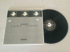 AN INTERVIEW WITH JOHN LYDON GATEFOLD PUBLIC IMAGE 1986 UK PRESS LP