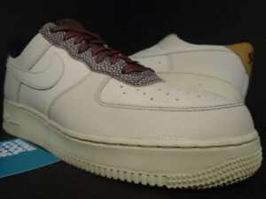 NIKE AIR FORCE 1 '07 LV8 4 FOSSIL WHEAT SHIMMER OFF WHITE SAFARI CK4363-200 10
