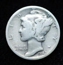 1942   USA  10   cent   silver