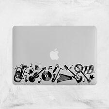 Music Decal for Macbook Pro sticker vinyl air mac 13 15 11 laptop skin dj guitar