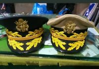 Set of two US army general hats
