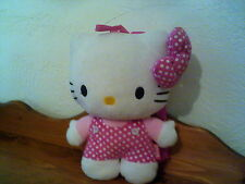 "13"" Hello Kitty Plush BackPack Back  Pack w/ Straps (18)"