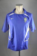 Brasilien Trikot 2002-04 Nike Gr. M WM Jersey Away Brazil World Cup Brasil