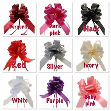 Pull Bows for Wedding Car Ribbon first class post Prom Birthday Gift  Pack of 3