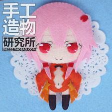 Anime YUZURIHA INORI Guilty Crown GC Handmade Hanging Plush Toy Keychain Bag