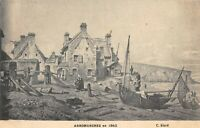 CPA 14 ARROMANCHES EN 1842