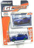 GREENLIGHT GL MUSCLE 13170 F 2014 14 NISSAN SKYLINE GT-R R35 1/64 Chase Car