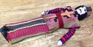 Ethnic Armenian Warrior Groom Doll Sword Cross in Belt Cloth Stuffed Vintage