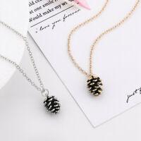 Schmuck Geschenke Pine Nuts Anhänger Halskette von Acorn Pinocone Anhänger
