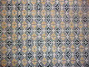 4 YARDS Sevilla Gray Geometric 10090 Contempo Premium Quilting Cotton Fabri