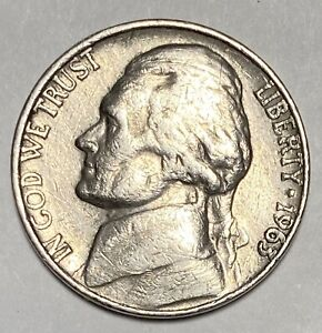 1963 D/D Jefferson Nickel 5¢ Cents Repunched Mintmark Error RPM Coin  (2380)