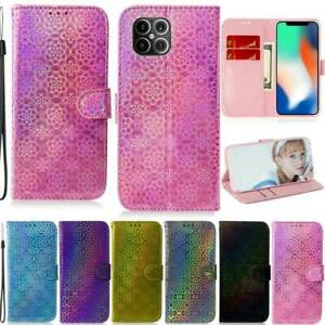 For iPhone 12 11 Pro XS Max SE2 8 6 7 Plus Deluxe Wallet Leather Flip Case Cover