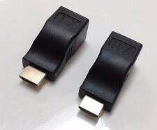 HDMI extender converter by ONE Cat5e Cat6 cable - no power Required. 1080p