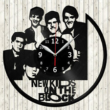 New Kids on The Block Vinyl Record Wall Clock Decor Handmade 7178