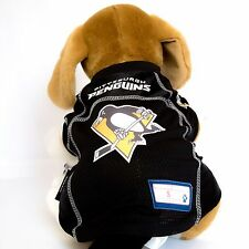 Pittsburgh Penguins Dog Jersey Nhl Hockey Officially Licensed Pet Product